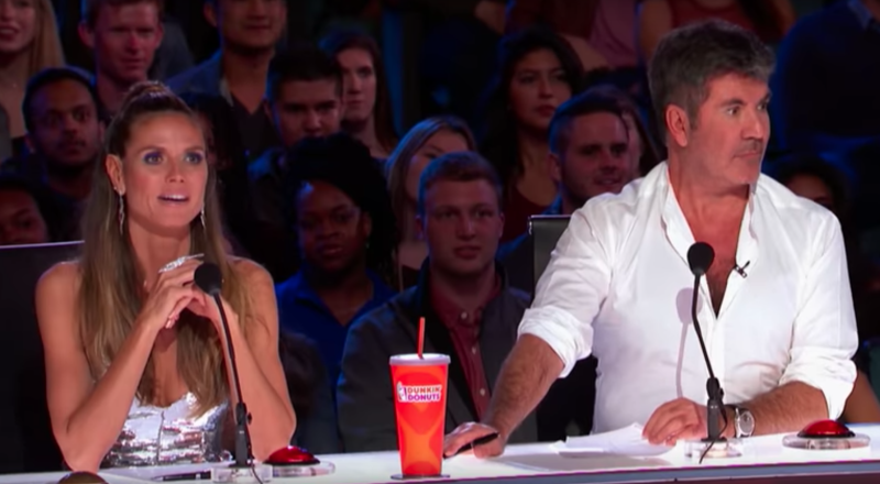 Courtney Hadwin gets Golden Buzzer from Howie on America's Got Talent 2018