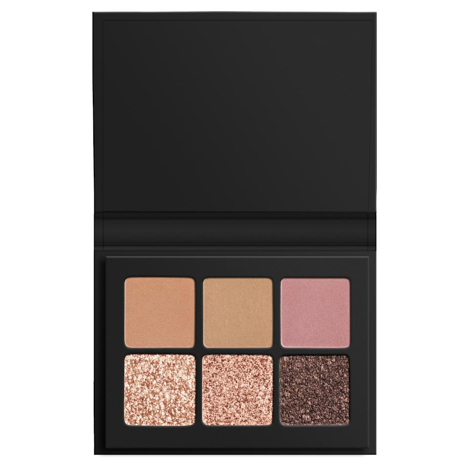 "<div class=""caption"">Lorac Mini Pro Palette in Sparkling, $15</div><cite class=""credit"">Courtesy of brand</cite>"