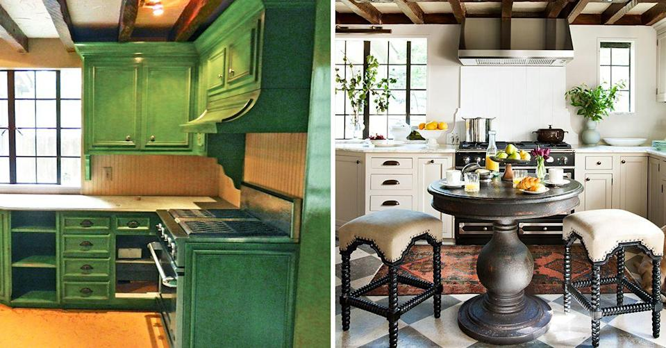 "<p>If there's one room in your home that absolutely needs to be functional, it's the <a href=""https://www.housebeautiful.com/room-decorating/kitchens/g623/beautiful-designer-kitchens/"" rel=""nofollow noopener"" target=""_blank"" data-ylk=""slk:kitchen"" class=""link rapid-noclick-resp"">kitchen</a> (the runner up being your bathroom, of course). And since it's the heart of the home, a kitchen should also be stylish and presentable. With a few power tools, plenty of elbow grease, and a design-savvy eye, anything is possible—no matter how outdated and hopeless a kitchen may seem. Need proof? These renovations say it all. Get inspo from these dramatic <a href=""https://www.housebeautiful.com/room-decorating/kitchens/g1431/kitchen-cabinet-ideas/"" rel=""nofollow noopener"" target=""_blank"" data-ylk=""slk:kitchen"" class=""link rapid-noclick-resp"">kitchen</a> makeovers with before and after photos that reveal just how much potential lies within even the most rundown of spaces. </p>"