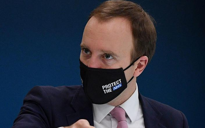 Matt Hancock, the Health Secretary, is said to be seeking to act in light of emerging evidence about Vitamin D - Justin Tallis/PA