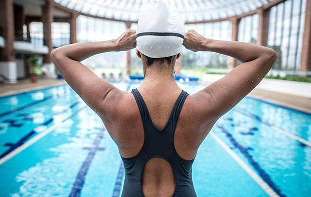 Good and bad news for swimmers - there is pee in pools, but not huge amounts. Photo: Getty