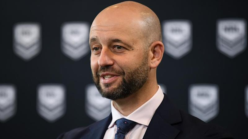 Chief executive Todd Greenberg says the NRL's intent is to play on during the coronavirus pandemic
