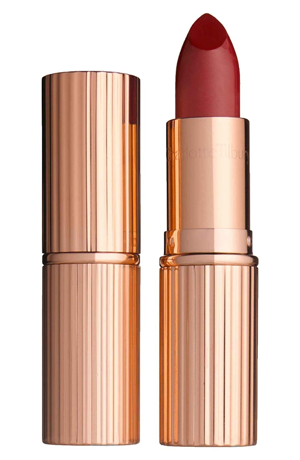 <p>The <span>Charlotte Tilbury K.I.S.S.I.N.G. Lipstick</span> ($34) comes in 10 stunning shades that look amazing on all skin tones.</p>