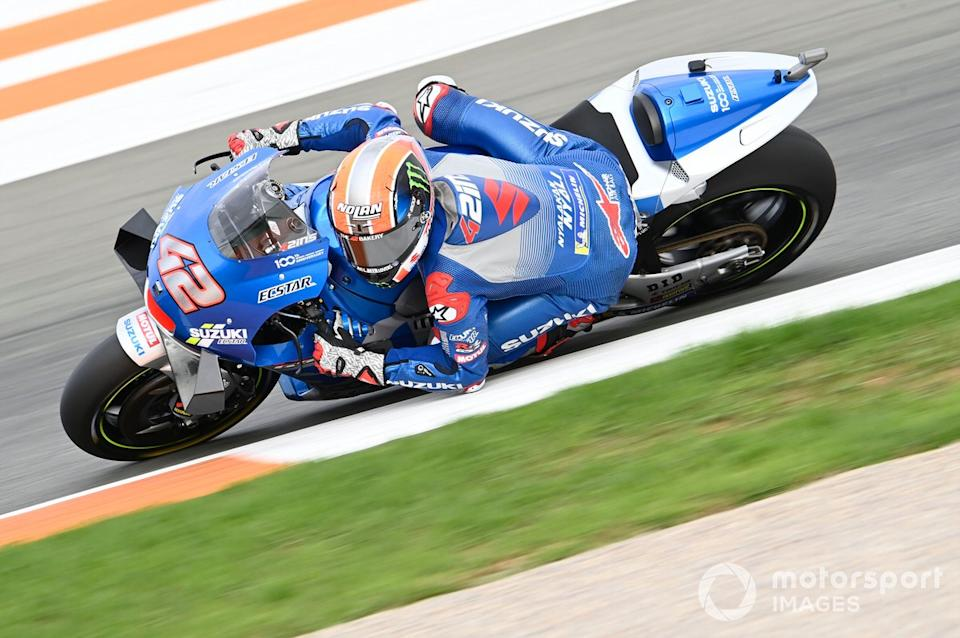 "Alex Rins, Team Suzuki MotoGP<span class=""copyright"">Gold and Goose / Motorsport Images</span>"