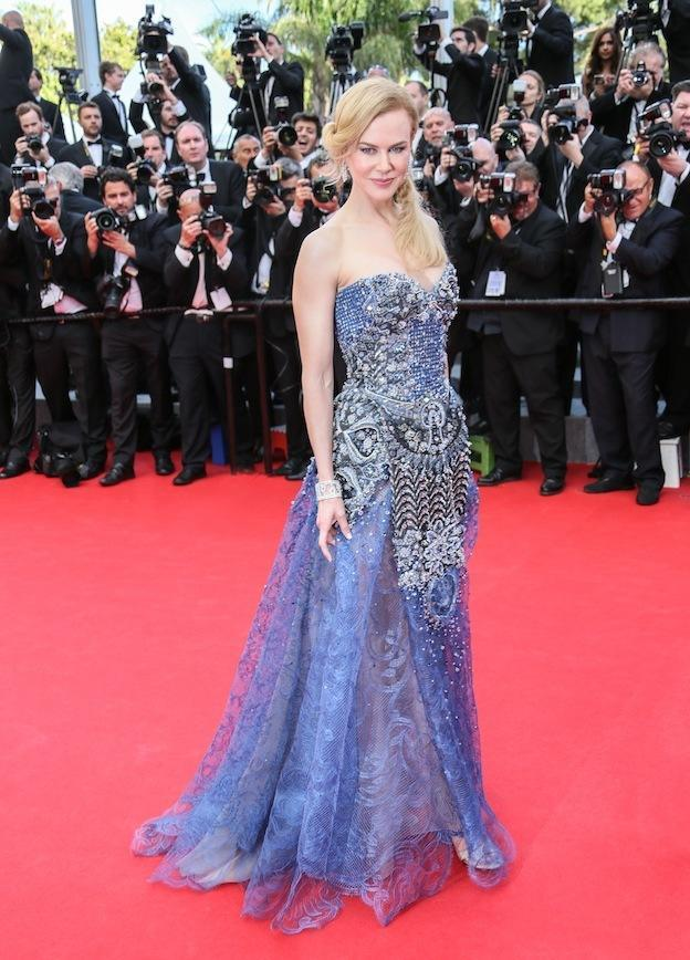 At the 2014 Cannes Film Festival at the premiere of her film Grace Of Monaco