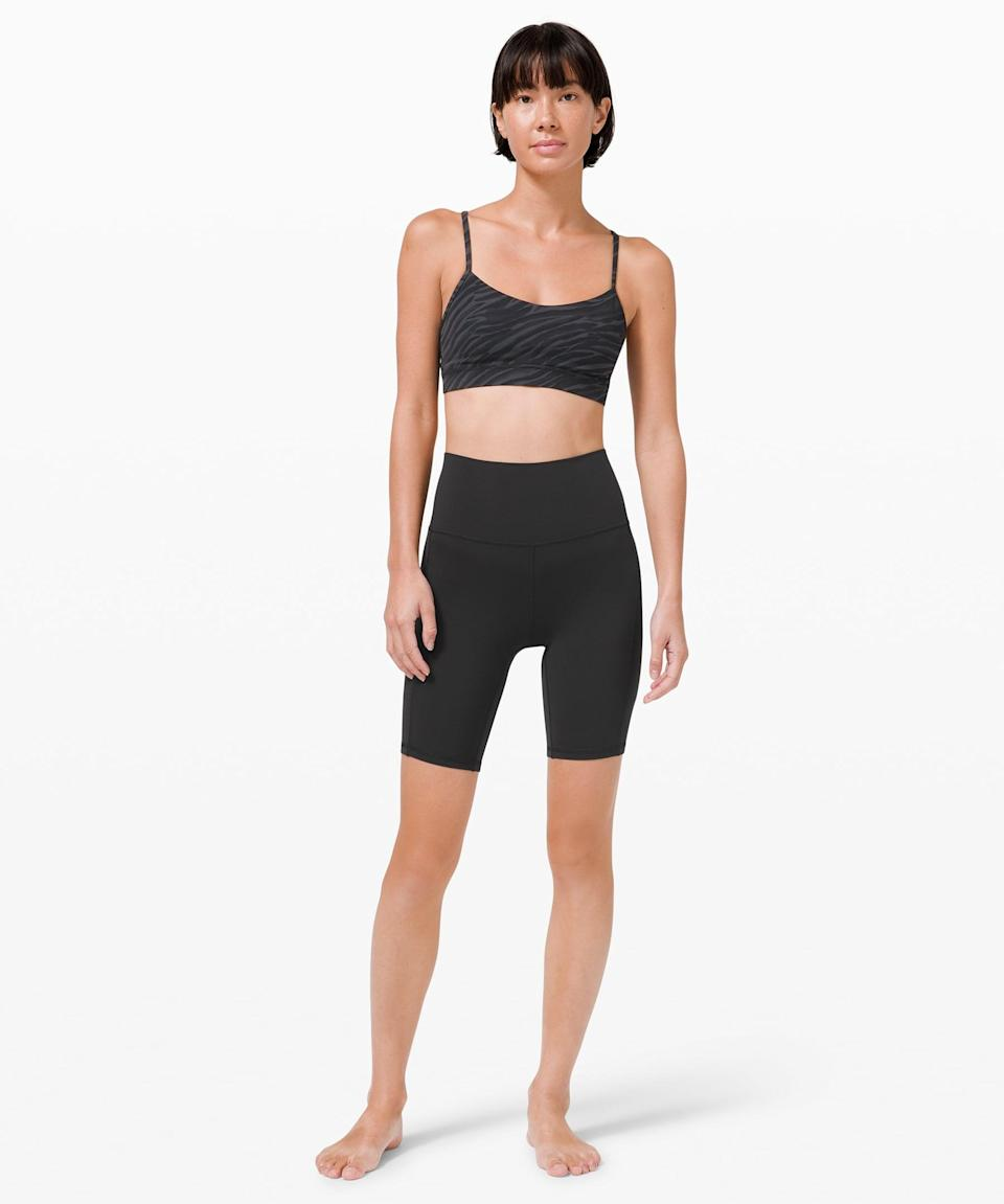 <p>This cult-favorite style is now even more functional. Snap up the <span>Lululemon Align High Rise Short with Pockets</span> ($68) while it's still in stock!</p>