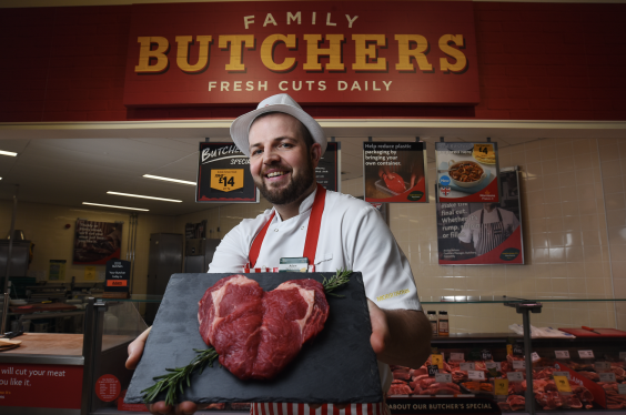 The steaks will be prepared by Morrison's butchers to ensure none of the meat is wasted (Morrison's)