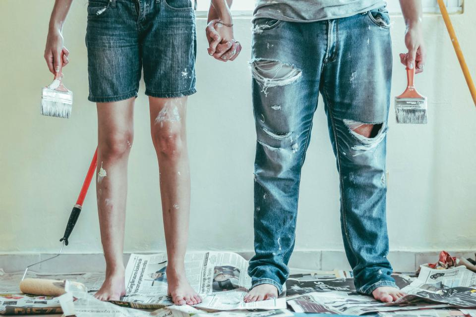 Painting a room costs just £71 on average. Photo: Roselyn Tirado/Unsplash