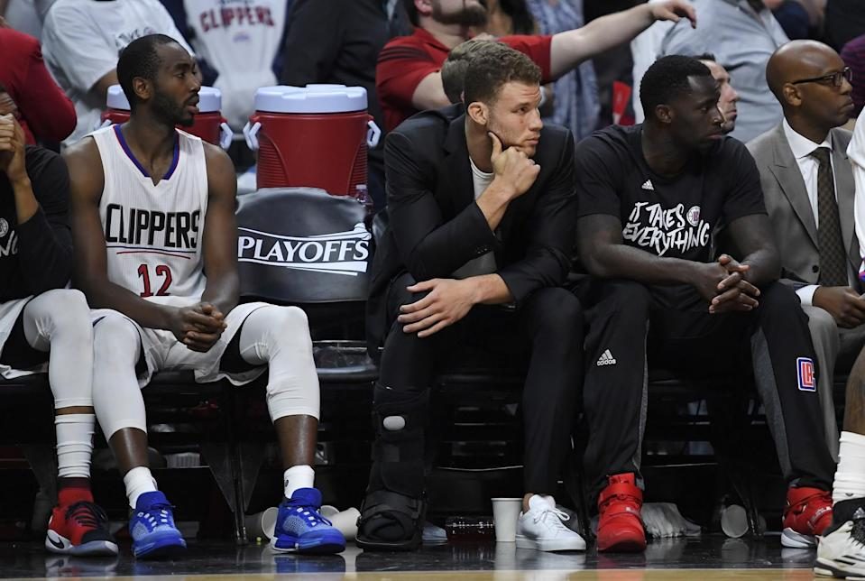 Blake Griffin is slated to earn $21.4 million next season but has an early termination option. (AP)