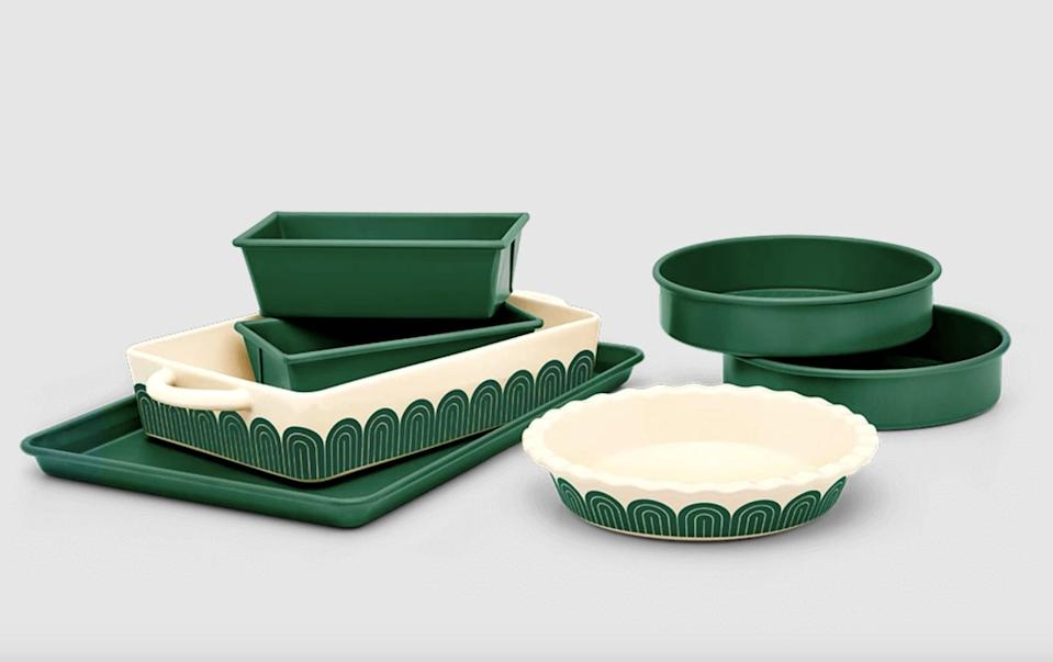"""<p>""""I'm in the mood to start baking this spring, and the <span>Great Jones Fully Baked</span> ($265) is top of my kitchen wish-list. I love that it comes with everything you need and it's cute, so win, win."""" - Nikita Charuza, editor, Fashion</p>"""