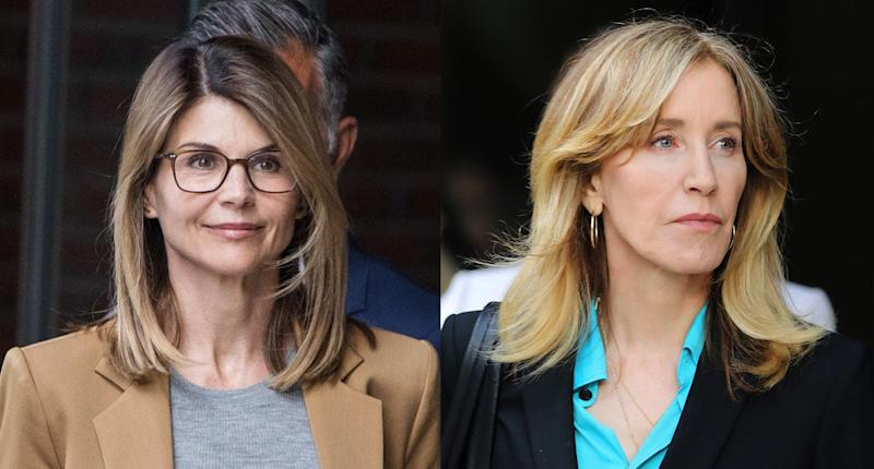 Lori Loughlin and Felicity Huffman have handled their federal indictments very differently — and it looks like their punishments will be very different too. (Photo: Getty Images)
