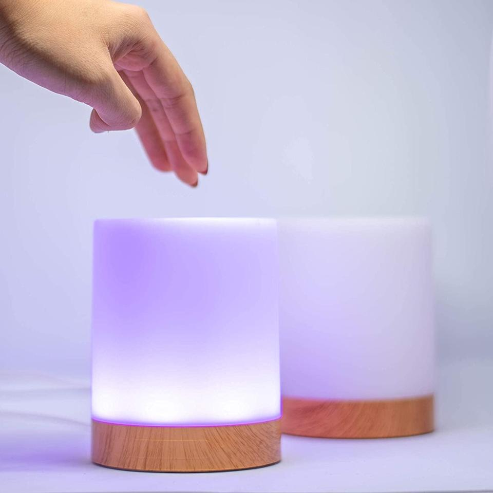 <p>Stay connected regardless of distance and timezones with the <span>Set of Two Long Distance Friendship Lamps</span> ($199). You can set it on your desk, vanity, or bedside table and tap it whenever you think of your bestie.</p>