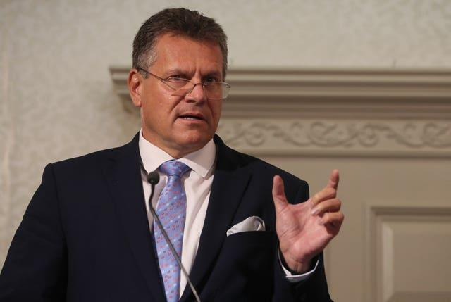 European Commission Vice President Maros Sefcovic