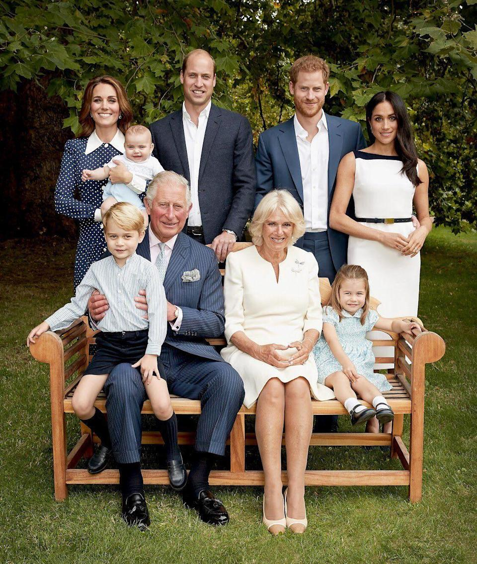 <p>Kate first wore this cult polkadot dress for a family portrait celebrating Prince Charles 70th birthday. </p>