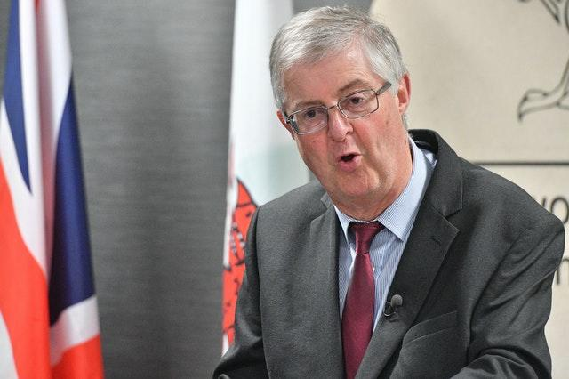Mark Drakeford, the First Minister of Wales (Ben Birchall/PA)