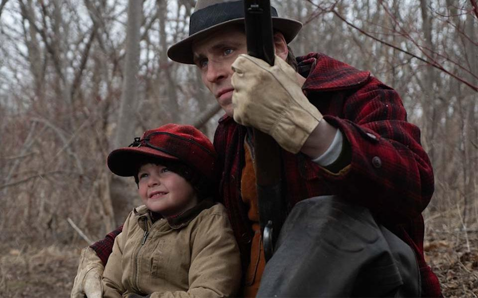 <p>A series of flashbacks, stretched across the 20th century, confirm that Willis (Sverrir Gudnason) has always been a cruel man</p>Modern Films