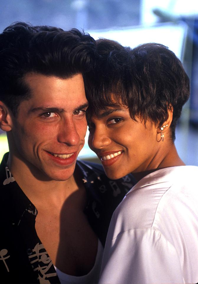 "<p class=""MsoNormal"">Halle Berry apparently had ""the right stuff"" for Danny Wood from New Kids on the Block. Back in 1989, the former Miss Ohio had a short-lived romance with the boy-band star right around the time she was transitioning from beauty queen to actress in New York City. </p>"