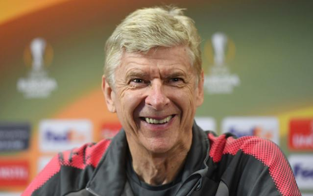 """Arsene Wenger has opened the door on the extraordinary prospect of returning to Arsenal's Emirates Stadium with another team after admitting that he hopes to continue in elite European club competition. """"I hope these are not my last European cup games – my target is to play in Europe again,"""" said Wenger, ahead of Thursday's Europa League semi-final first leg against Atletico Madrid. He had earlier replied that """"the timing was not really my decision"""" in response to a direct question about why he was leaving a year before his contract ends and also revealed uncertainty about the imminent prospect of ending his record-breaking 22-year tenure in North London. """"I've had no break [from football management] for 35 years,"""" said Wenger. """"You can look around, and that doesn't exist. I don't know now how addicted I am. I am like a guy who plays Russian roulette every week and suddenly has no gun. I will see how much I miss that gun. """"You live always in extreme situations. When I started at 33, I thought I would never survive in this job, but you learn to dominate your emotions. You are never sure if you do the right thing. It will be surreal when I don't work. At the moment I work."""" So, might he take as much as a year out, like Pep Guardiola did between his jobs at Barcelona and Bayern Munich? """"It's long – 365 days,"""" said Wenger, frowning at the thought. What next for Arsene Wenger - the departing Arsenal manager's possible destinations Looking relaxed and speaking more expansively than he generally has in recent years, Wenger also urged Arsenal to again be bold in hiring his successor if they judge him right for the job. """"I wish that all goes well,"""" said Wenger, who famously arrived in 1996 to the headline: 'Arsene Who?' """"You do not give 22 years of your life for something, go away and want things to collapse. Maybe when you have a big ego at 40, you think the world cannot live without you. At my age you understand the world continues and you wish that it continues better. """"T"""