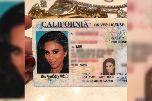 Is this an ID photo or a magazine cover shot? (Photo: Instagram/lillyghalichi)