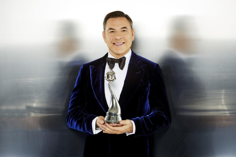 David Walliams is hosting the NTAs for the first time. (ITV/Nicky Johnson)