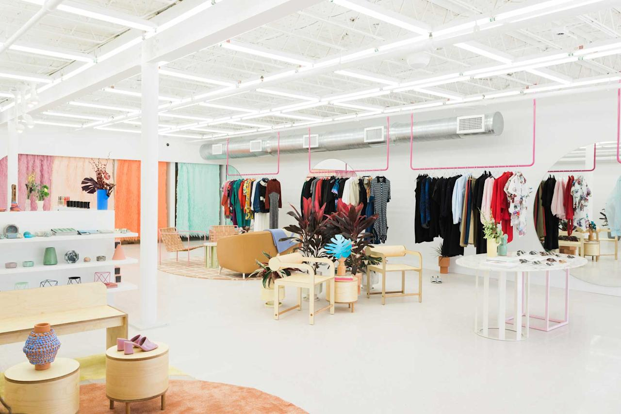 <p>TenOverSix is a high-concept retail space that just opened its doors in Miami earlier this year. It looks and feels like a an art gallery which complements the city's artistic roots. (Photo: courtesy of TenOverSix)<br />Location: 7338 NW Miami Ct, Miami, Fl 33150 </p>