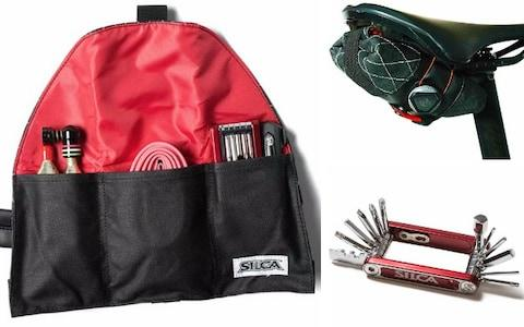 Seat roll premio, CO2 pump & multi-tool – Silca - Cycling Christmas gift ideas: The ultimate guide for road cyclists