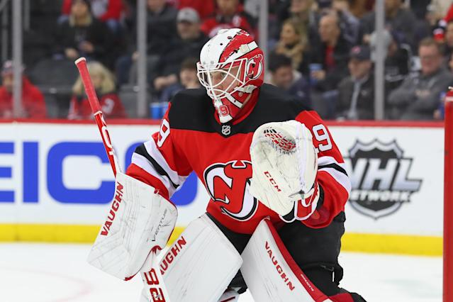 Blackwood has been saving the Devils from a worse fate. (Photo by Rich Graessle/Icon Sportswire via Getty Images)
