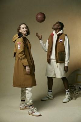 Canada Goose & NBA Collection with RHUDE Portage Jacket and Freestyle Vest