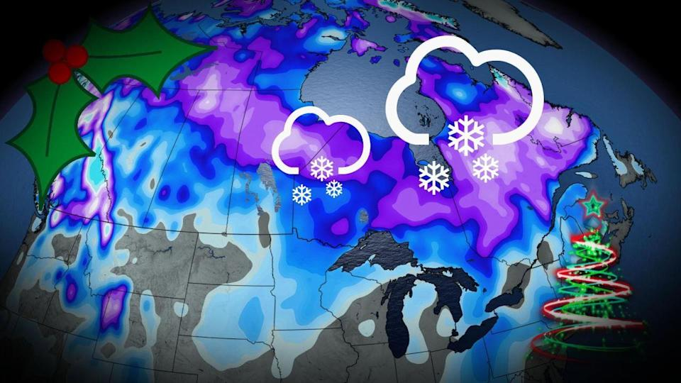 Last-minute storm catapults white Christmas odds across Canada
