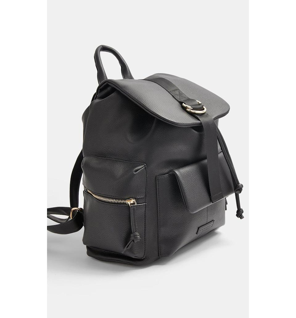 <p><span>Topshop Aberdeen Backpack</span> ($34, originally $50)</p>