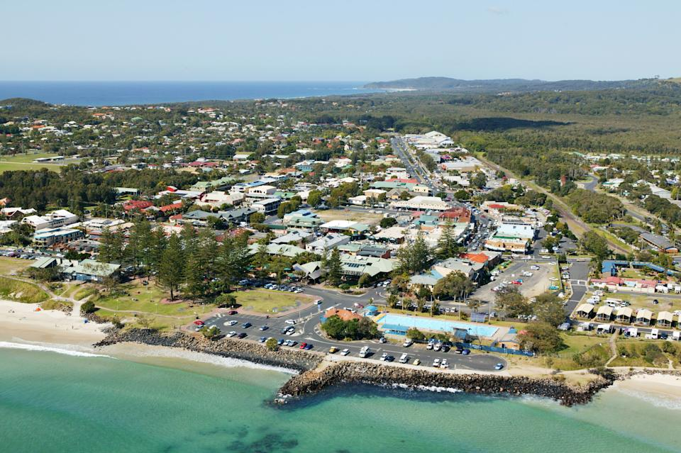 Two positive coronavirus cases from Queensland visited Byron Bay. Source: Getty Images