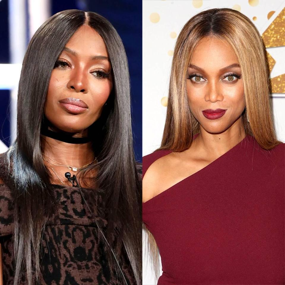 """Naomi Campbell's Latest Post Hints That Tyra Banks Is """"the Real Mean Girl"""""""