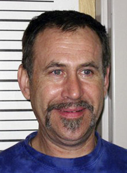 """This image provided by Washington State Department of Corrections shows Robert Farrell Johnson Armstrong, who was arrested on drug charges. Armstrong, also known as """"Dr. Bob,"""" is accused by Montana authorities of obtaining pure methamphetamine in his home state of Washington to distribute through a network of couriers across Montana.(AP Photo/Washington State Department of Corrections)"""