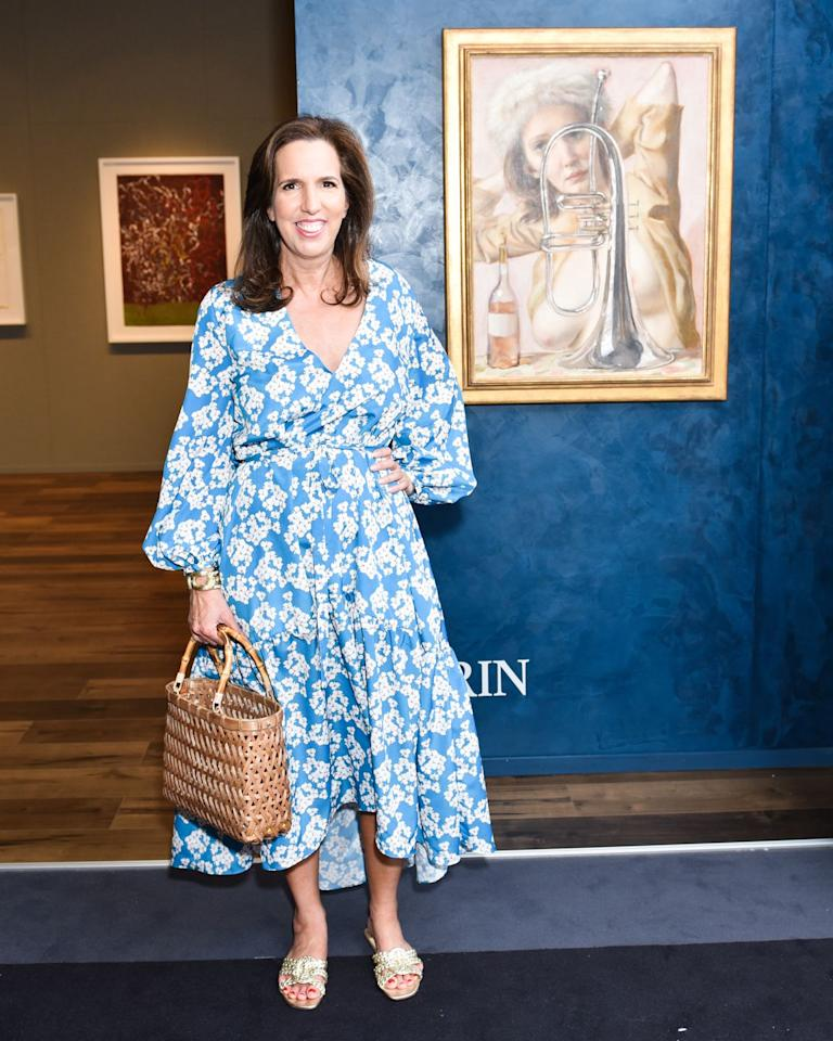 <p>At the Opening Night of TEFAF New York Spring, hosted by The Society of Memorial Sloan Kettering in New York on May 3.</p>