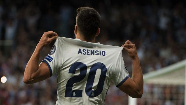 Marco Asensio has set Madrid alight with his performances for Real this season.