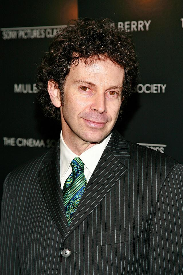 """Writer/Director <a href=""""http://movies.yahoo.com/movie/contributor/1800350467"""">Charlie Kaufman</a> at the New York premiere of <a href=""""http://movies.yahoo.com/movie/1809873025/info"""">Synecdoche, New York</a> - 1015/2008"""