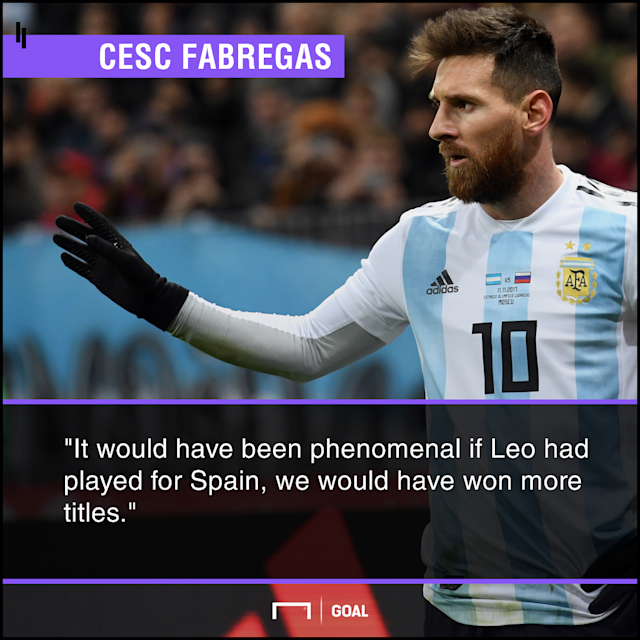 The Barcelona talisman had the option to switch allegiance after putting down roots in Catalunya, but never considered turning his back on Argentina
