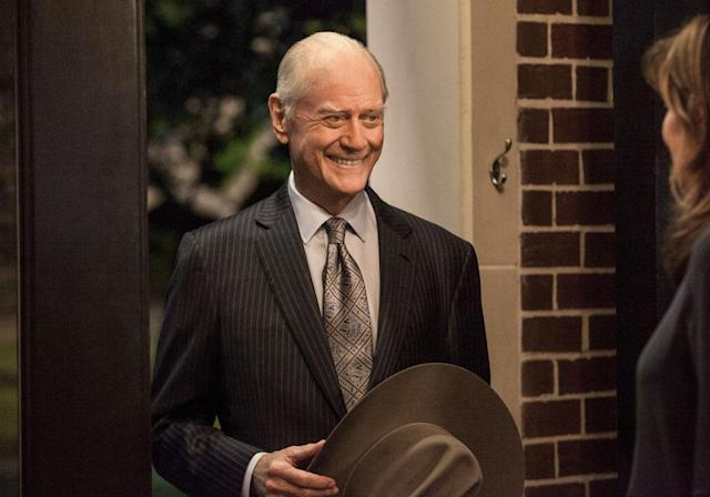 "Larry Hagman in the ""Dallas"" Season 2 episode, ""Venomous Creatures."""