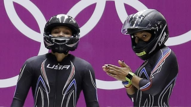 2014 Olympic bobsledder, Jazmine Fenlator shares her thoughts on bobsleigh partner, Lolo Jones, and her admiration for Jones' dedication and perseverance.