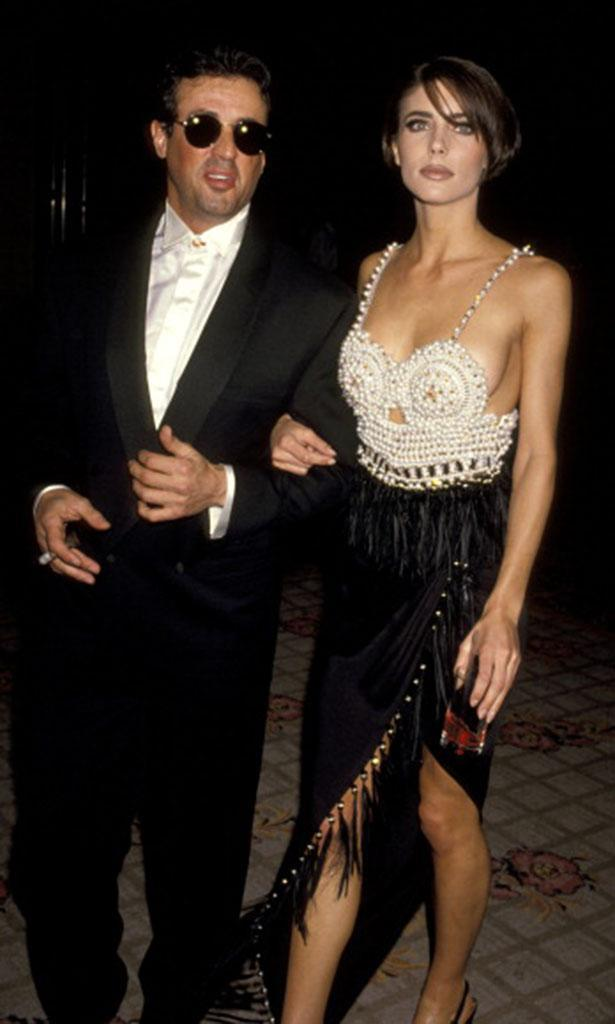 Sylvester Stallone and Jennifer Flavin met in 1988 — and by 1991, they were hot and heavy. But his idea of committed was different from hers. (Photo: Ron Galella/WireImage)