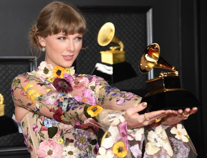 'This is the perfect moment for Fearless (Taylor's Version)'Getty Images for The Recording Academy