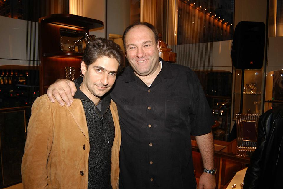 Michael Imperioli posted a touching remembrance to his friend and Sopranos co-star James Gandolfini in honor of the late actor's birthday. (Photo: Patrick Hannaway/Patrick McMullan via Getty Images)