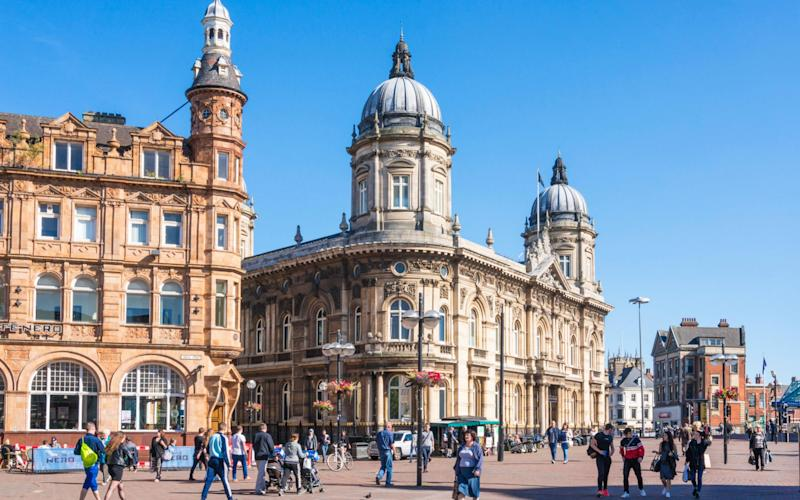 Hull city centre - Credit: Alamy Stock Photo