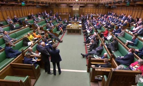 MPs in the Commons are told which amendments have been selected for the latest round of Brexit votes. (AFP)<br>
