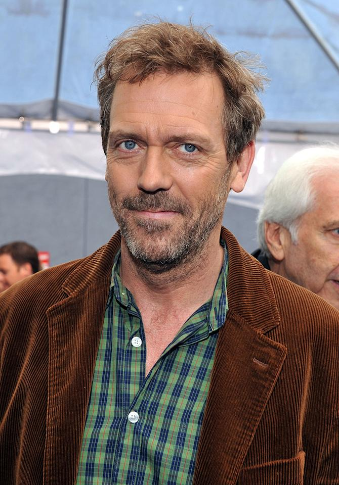 "<a href=""http://movies.yahoo.com/movie/contributor/1800024921"">Hugh Laurie</a> at the Los Angeles premiere of <a href=""http://movies.yahoo.com/movie/1809918074/info"">Monsters vs. Aliens</a> - 03/22/2009"