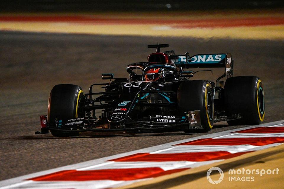 """George Russell, Mercedes F1 W11<span class=""""copyright"""">Mark Sutton / Motorsport Images</span>"""