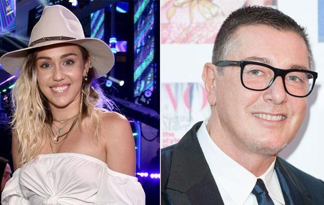 Stefano Gabbana responded quickly to Miley's post. Source: Getty