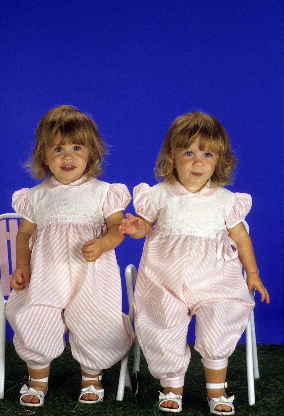 <p>Twins Mary-Kate and Ashley Olsen dominated the child star game in the late '80s and early to mid-'90s, first both appearing as baby Michelle Tanner on <em>Full House</em> before moving on to more starring roles in their own films, including <em>Passport to Paris</em> and <em>When in Rome</em>.</p>
