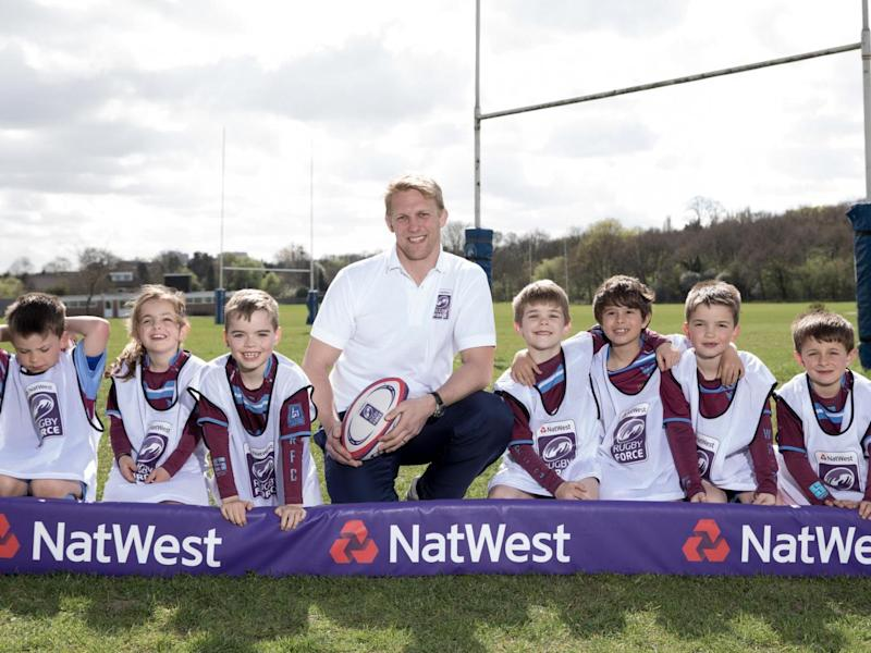 English Rugby Legend Lewis Moody is a member of The Rugby Force - a grassroots rugby initiative from NatWest and England Rugby which will offer advice and support to community clubs across England as part of NatWest RugbyForce 2017.