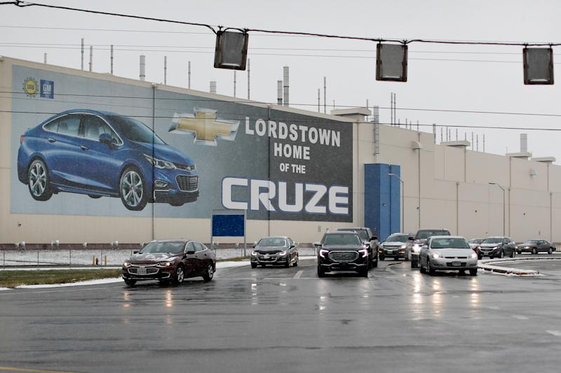 General Motors' Lordstown plant in Lordstown, Ohio, on Nov. 27, 2018.